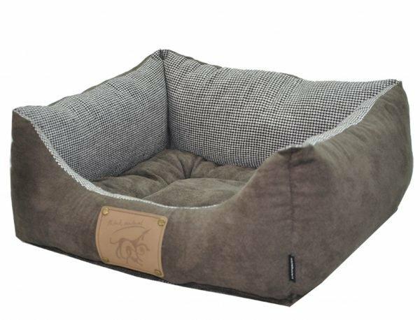 Hondenmand Laponie brun/koffie 60x48x19cm