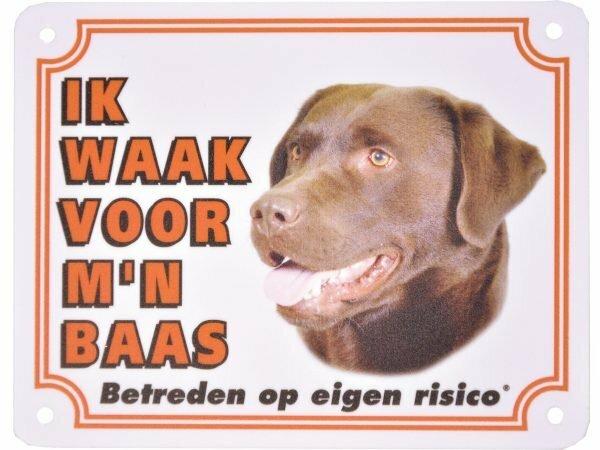 Waakbord S Labrador Retriever NL