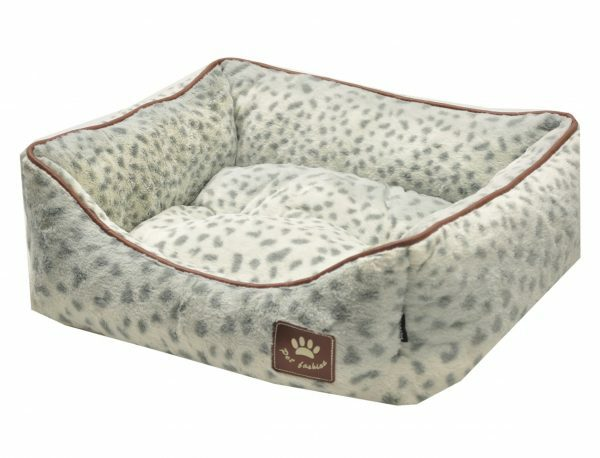 Hondenmand Spotty wit/grijs 60x48x19cm