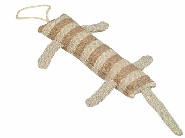 Speelgoed kat dummy gestreepte 30cm