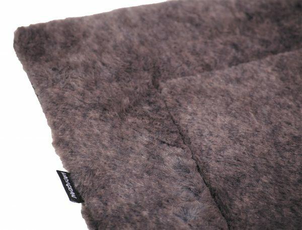 Platte matras Coban donkergrijs 110x73cm