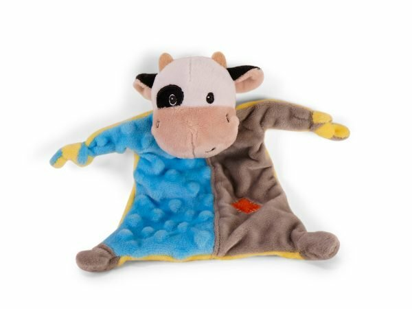 Speelgoed hond Kikki de koe doudou 23cm