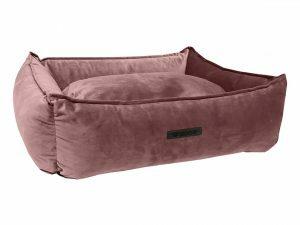 Hondenmand Wooff fluweel Blush 90x70x22cm