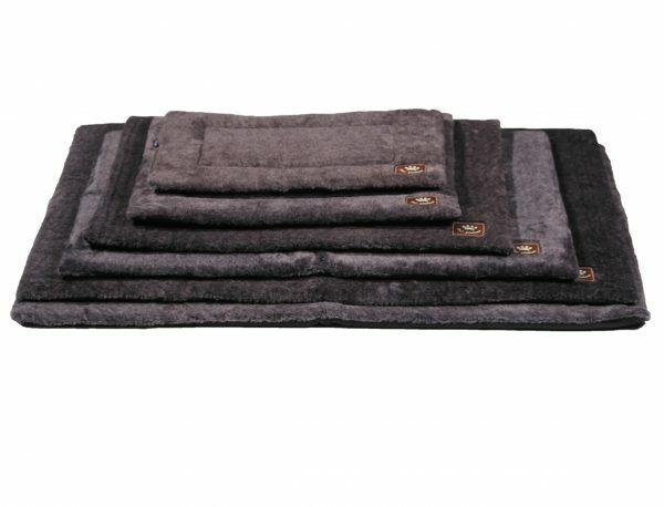 Platte matras Coban donkergrijs 53x31cm