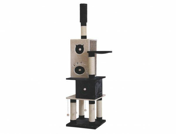 Kattenklim Colico beige/zwart 60x60x239cm 3BOX