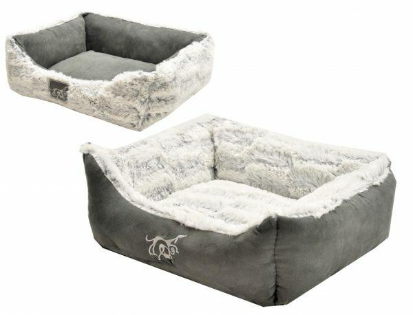 Hondenmand Cloudy grijs 60x48x19cm