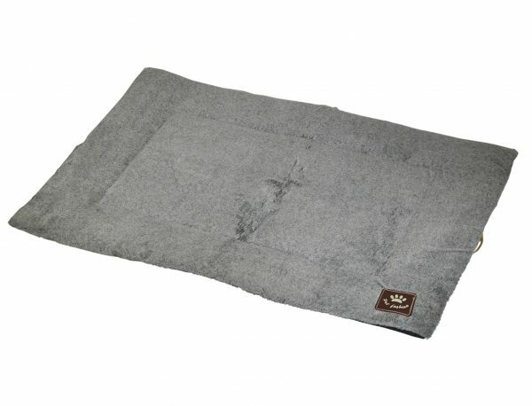 Platte matras Coban lichtgrijs 90x58cm