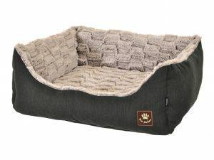 Hondenmand Asma antraciet/grijs 75x60x23cm