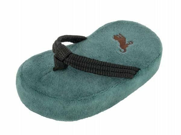 Speelgoed hond Globetrotter slippers 14,5cm