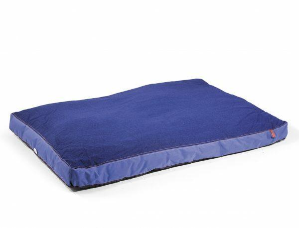 Matras Bluedenim donkerblauw 130x90x10cm