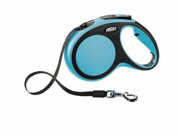 Flexi Comfort blauw M (riem 5 m)