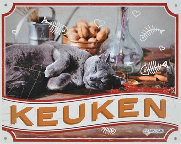 Waakbord kat Keuken NL