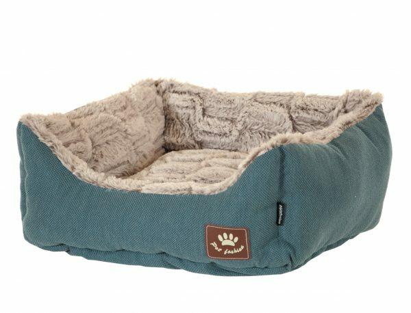 Hondenmand Asma blauw/grijs 75x60x23cm