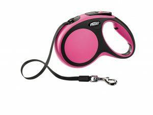 Flexi Comfort roze M (riem 5 m)