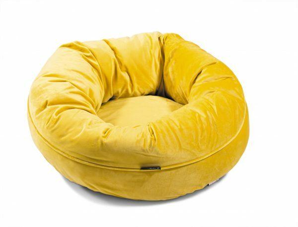 Donut Velvetti geel Ø60x25cm
