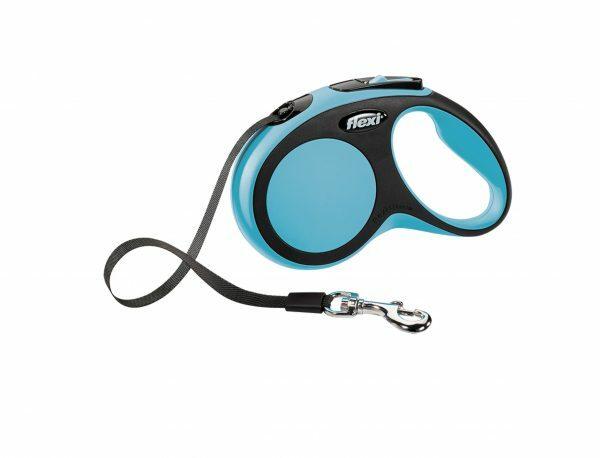 Flexi Comfort blauw S (riem 5 m)