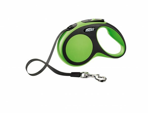 Flexi Comfort groen S (riem 5 m)