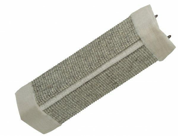 Krabplank hoekmodel grijs 24 x 51 cm