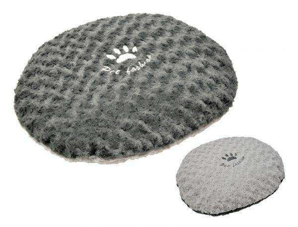 Kussen fleece Modern grijs 80x65cm