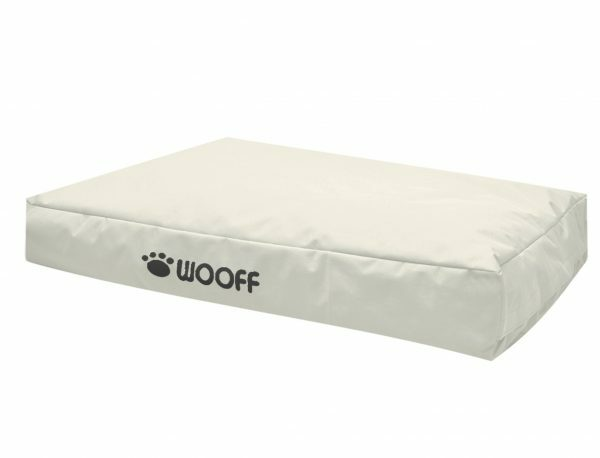 Matras Wooff crème 110x70x15cm