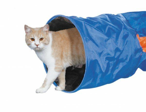 Tunnel voor kat nylon crunch 115 x 30 cm