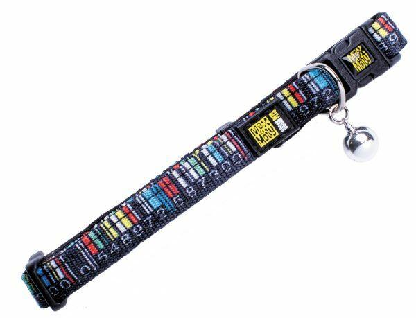 Halsband kat Barcode 10mmx21-33cm