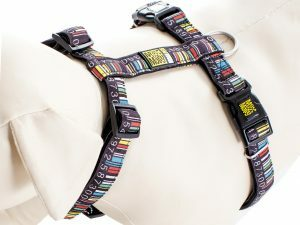 Harnas Barcode XS nek 24-39cm borst 32-40cm