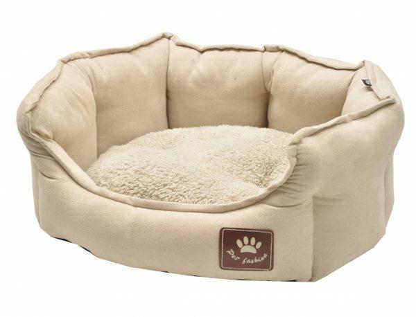 Hondenmand Lancia crème 55x50cm