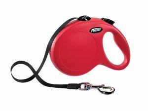 Flexi Classic rood L (riem 5 m)