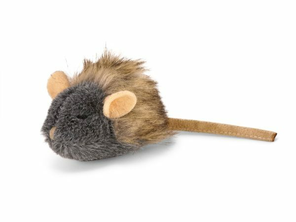 Speelgoed kat pluche muis 18cm