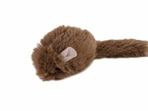 Speelgoed kat pluche muis 15cm (2)