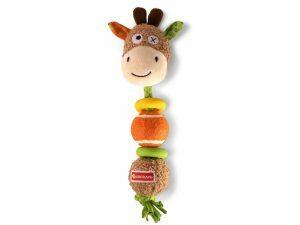 Speelgoed hond Gertie de giraf 30cm