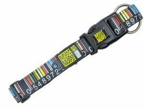 Halsband Barcode S 15mmx28-45cm