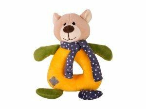 Speelgoed hond Bert de beer 20cm