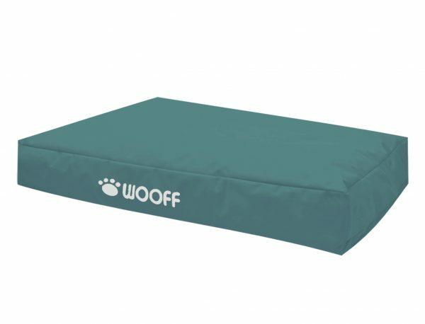 Matras Wooff Pacifisch groen 110x70x15cm