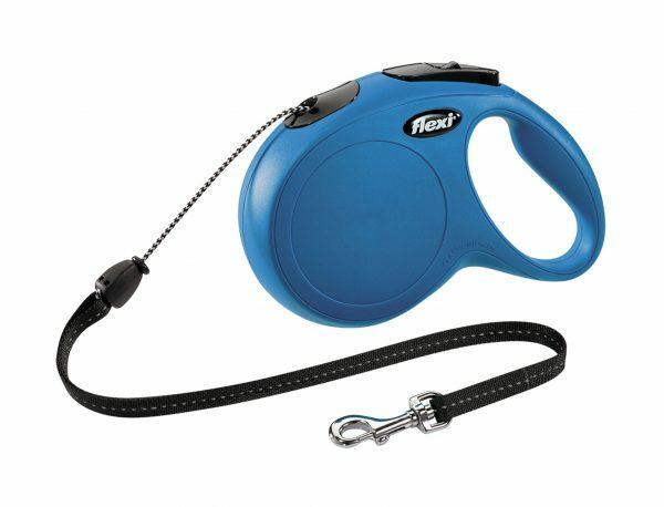 Flexi Classic blauw M (koord 8m)