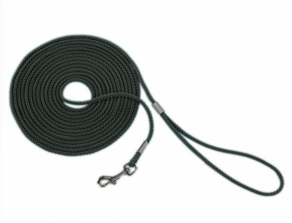 Zoeklijn nylon rond zwart 5 mm x 15 m