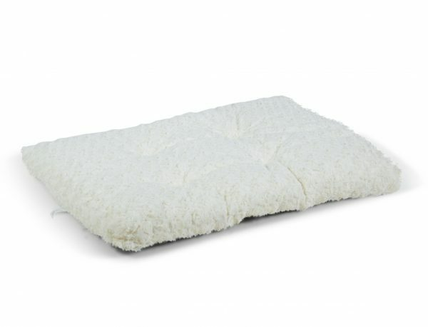 Platte matras crème voor Premium draadkooi 60x45cm