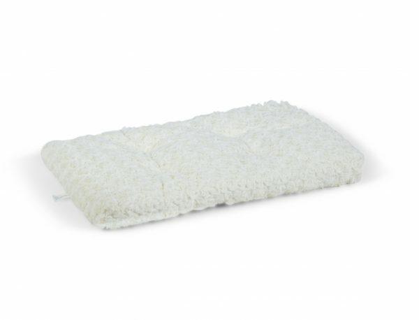 Platte matras crème voor Premium draadkooi 54x32cm