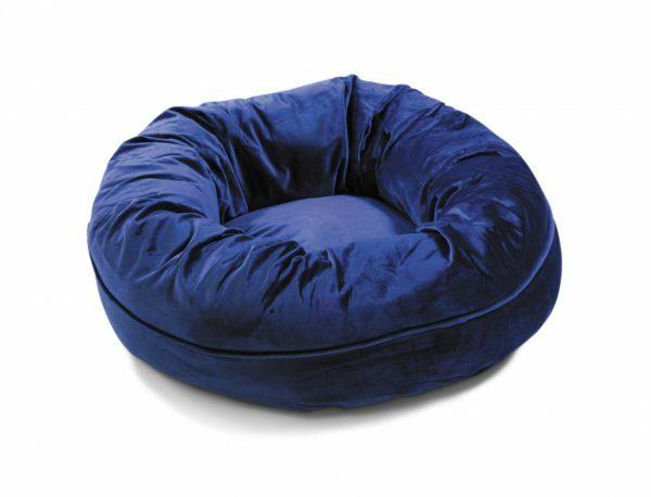 Donut Velvetti donkerblauw Ø60x25cm