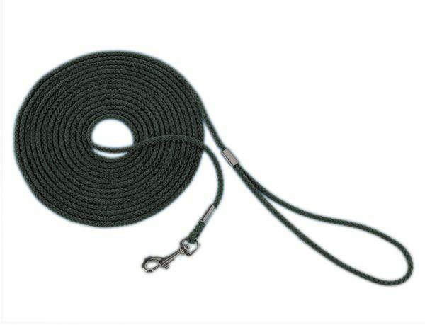 Zoeklijn nylon rond zwart 5 mm x 5 m