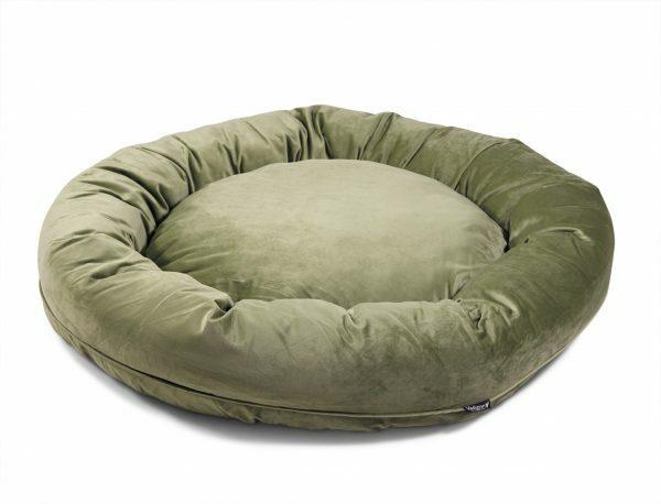 Donut Velvetti groen Ø100cmx25cm
