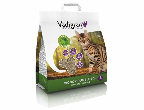 Cat litter Wood Crumble 10L