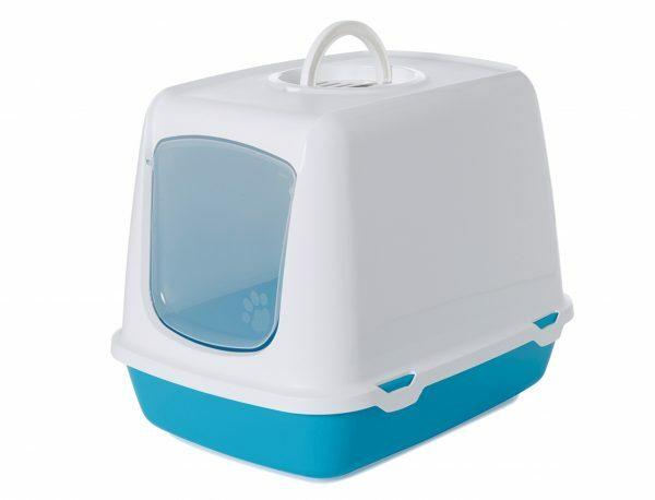 Toilethuis Oscar turquoise 50x37x39cm