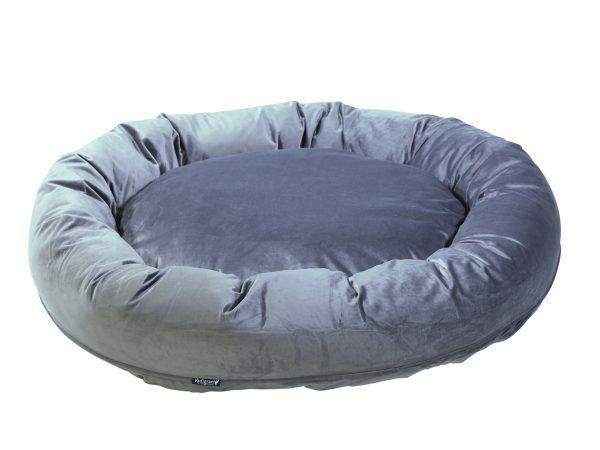 Donut Velvetti grijs Ø100x25cm