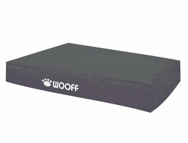 Matras Wooff antraciet 110x70x15cm