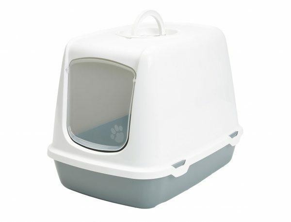Toilethuis Oscar wit &  grijs 50x37x39cm