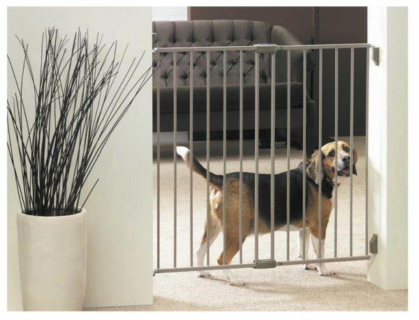 Dog Barrier Gate Indoor H 95 cm