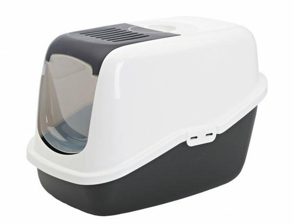 Toilethuis Nestor zwart 56 x 39 x 38,5 cm