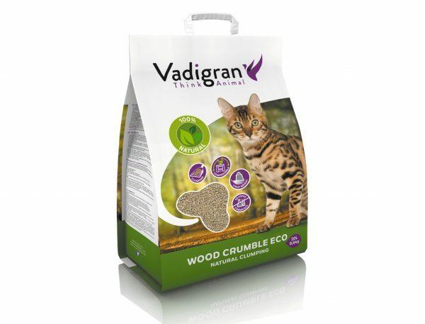 Cat litter Wood Crumble 20L